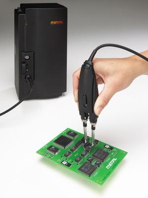 OK公司针对Metcal MX-500焊接/返修系统推出MX-PTZ精密镊型手柄