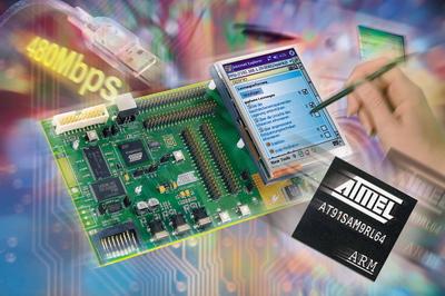 爱特梅尔推出基于ARM9的微控制器