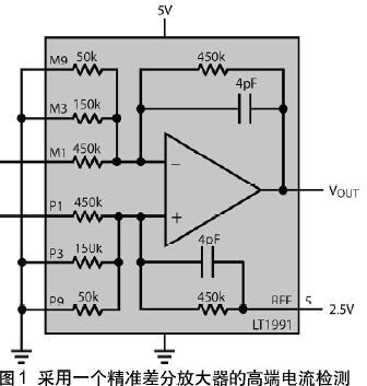 高端电流检测放大器简化了一项复杂的任务