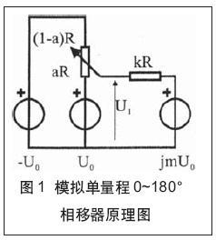 具有线性相位控制的模拟单量程0~180o相移器(04-100)