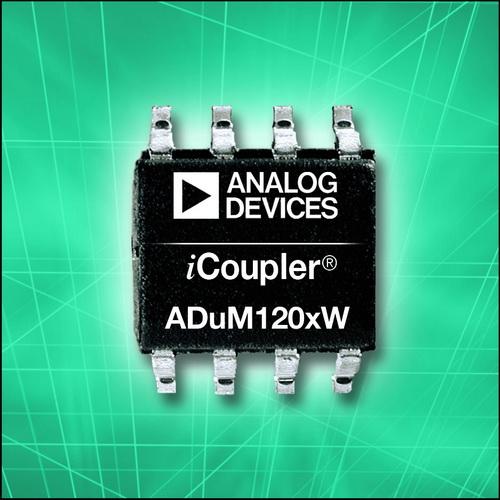 ADI推出符合汽车系统标准的数字隔离器产品