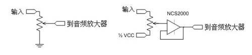 在电位计上增加一个运算放大器会影响音频放大器的增益变化