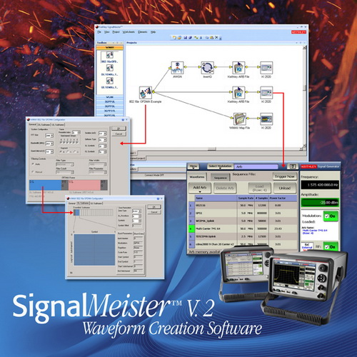 吉时利发布全新SignalMeisterTM 2.0版波形生成软件