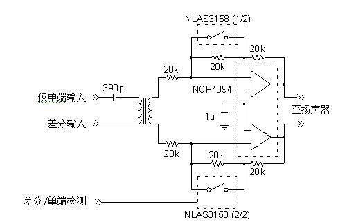 变压器简化了差分信号的产生