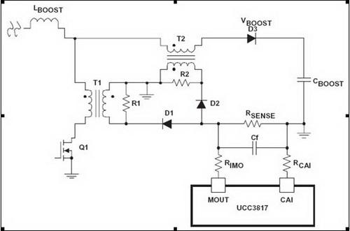 UCC3817 电流感应变压器评估
