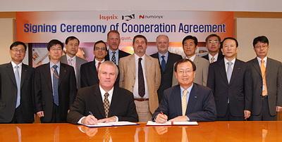 恒忆与海力士扩大合作 共同推广创新的NAND闪存技术与产品
