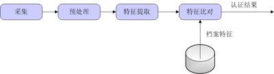 生物识别技术处理流程图