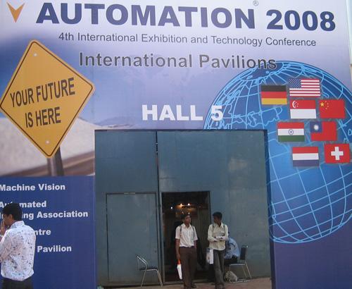 印度自动化展,步科电气满载而归