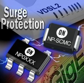安森美推出新晶闸管浪涌保护器件系列