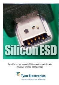 泰科宣布其ESD保护器件产品线上再添三款新品
