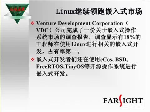 嵌入式Linux在消费电子领域的发展与应用  下