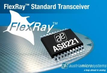 奥地利微电子推出FlexRay收发器系列产品
