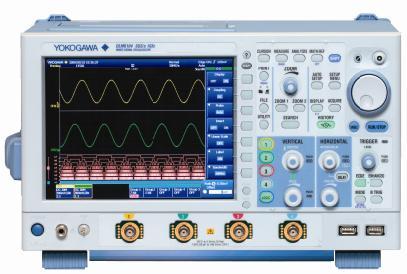 横河电机发布新型混合信号示波器DLM6000系列