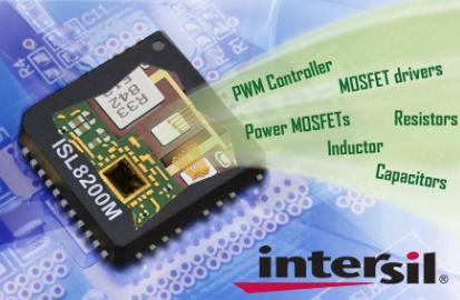 Intersil的新款电源模块攻克5个最困难的电源难题
