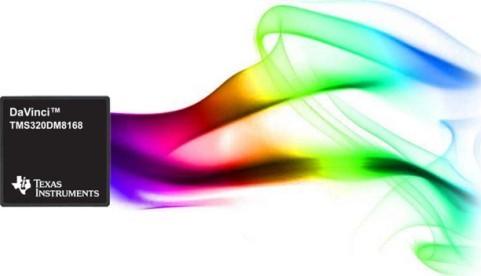 TI 推出 TMS320DM8168 达芬奇视频SoC