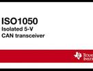 集成隔离式 CAN 收发器 - ISO1050