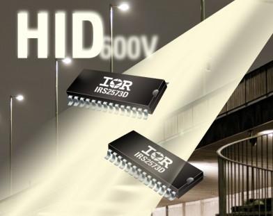 IR推出电子镇流器控制IC IRS2573DS