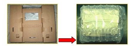 新型缓冲体在汽车音响产品包装中的设计与应用