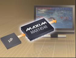 Maxim推出16通道、双向、100Mbps电平转换器