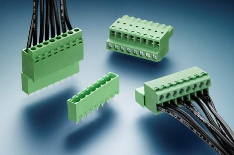 泰科电子EUROSTYLE接线端子台系列新增FRONT STYLE插头