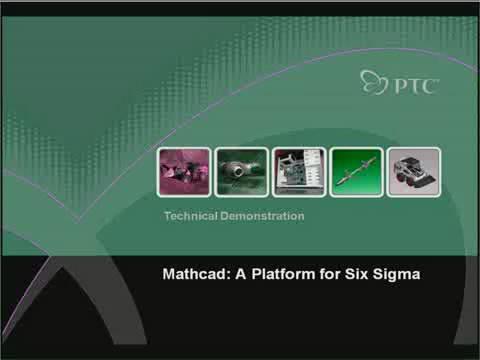Mathcad在6西格瑪方面的應用