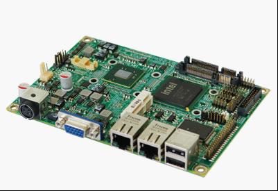 华北工控推出基于Intel Atom N450的嵌入式主板EMB-3870