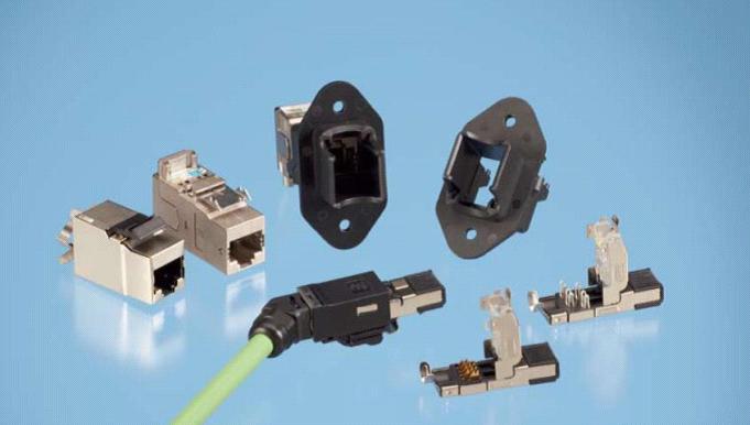 泰科电子推出全新工业以太网模块化插头