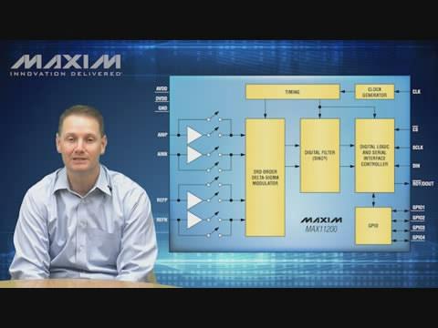 MAX11200 微功耗(<1mW)、24位ADC