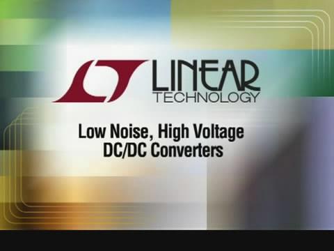 低噪声、高电压 DC/DC 转换器