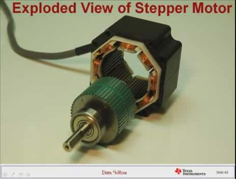 电机和电机控制的简介:步进电机