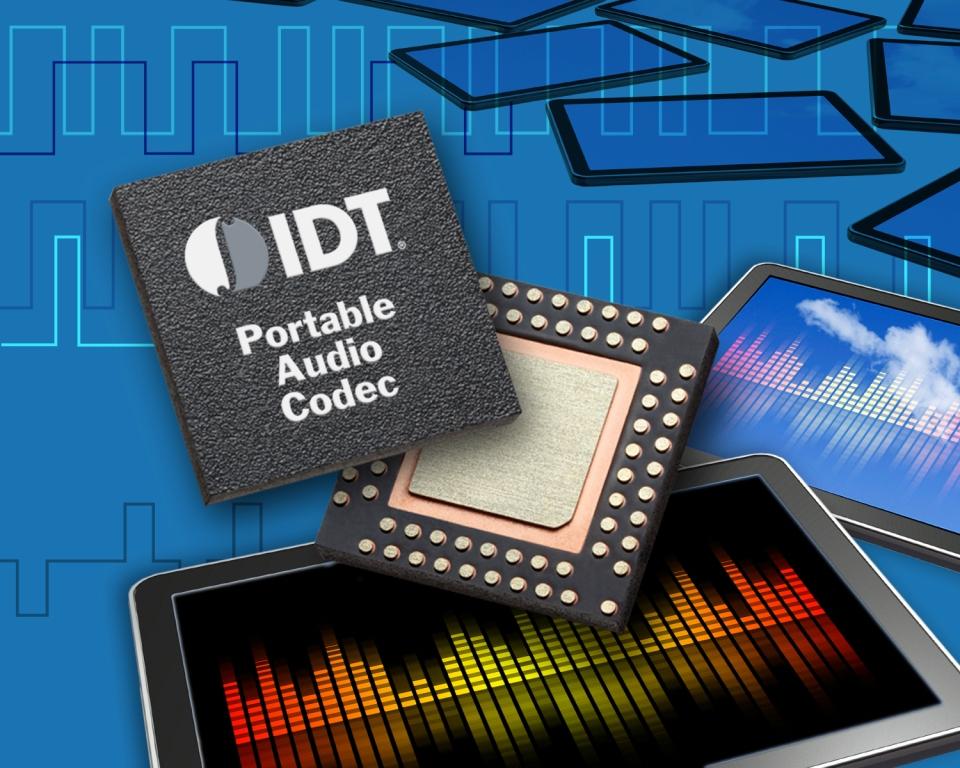 IDT 推出全球首款便携音频子系统