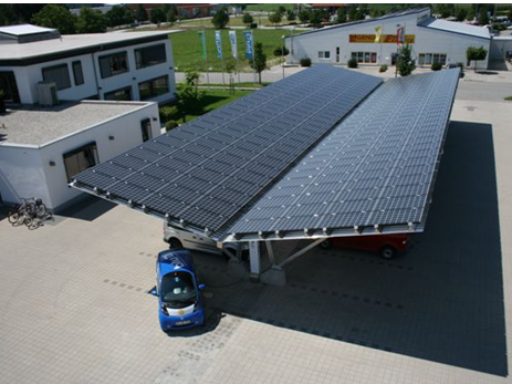 京瓷电池组件为德国电动汽车电动自行车提供电源