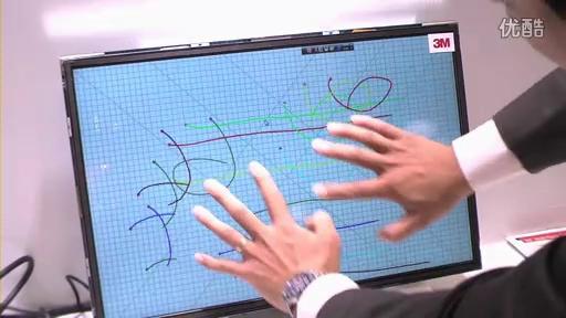 住友3M展示投影式静电容量式触摸面板