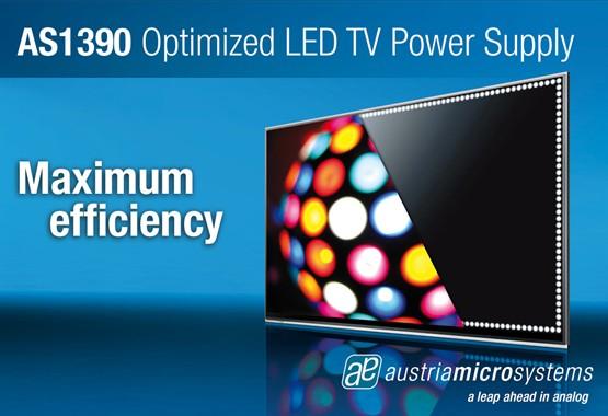奥地利微电子推出最新LED驱动及电源供给芯片