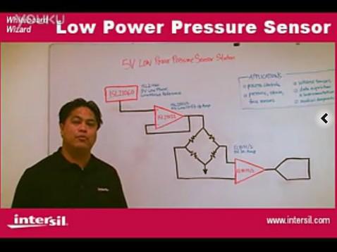 设计指南-低功耗压力传感器