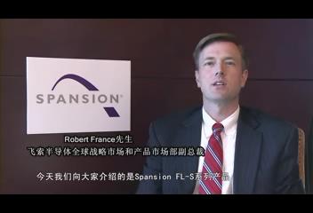 Spansion公司战略产品营销副总裁Robert France 访谈