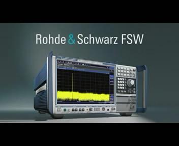R&S 信號與頻譜分析儀 FSW