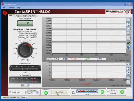 InstaSPIN-无刷直流电机与DRV- 8312和Stellaris LM3S818