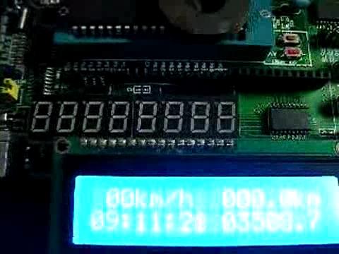 ysjabcd_速度里程计带时间显示.红外调时