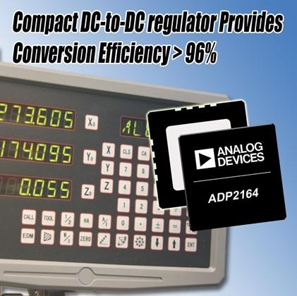 ADI高集成度同步调节器减少电路板空间