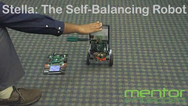 Stella:Self-Balancing Robot Powered by Nucleus RTOS on TI Stellaris
