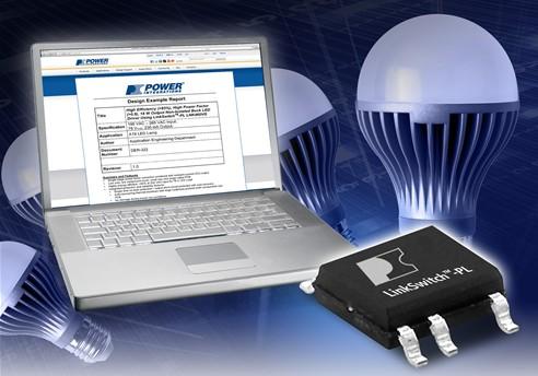 PI推出业针对高功率LED灯泡替换的LED驱动器