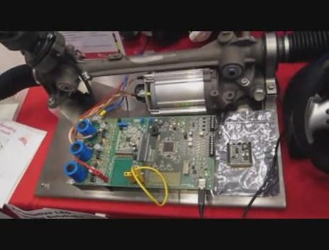电动助力转向系统示范