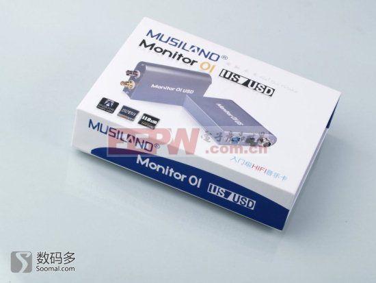 Musiland 乐之邦 Monitor 01 USD 聆听一号[新版] USB纯数字声卡拆解