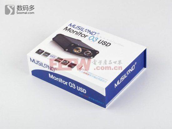 Musiland 乐之邦 Monitor 03 USD 聆听三号USB纯数字声卡拆解