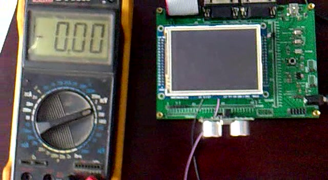 """""""asean""""的AD采集_温度采集_超声测距_日历时钟_LCD显示视频"""
