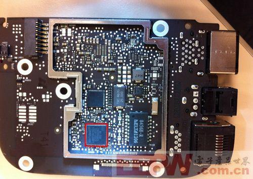 内存升级512M 新Apple TV真机拆解曝光