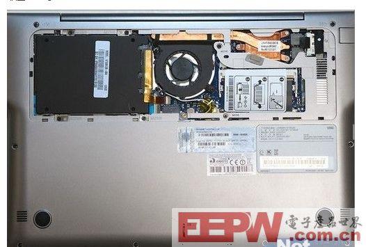 三星530U3B笔记本拆解