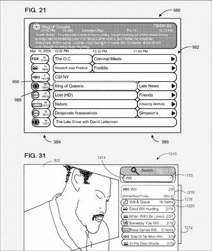 苹果获得与有线电视相关的电视专利