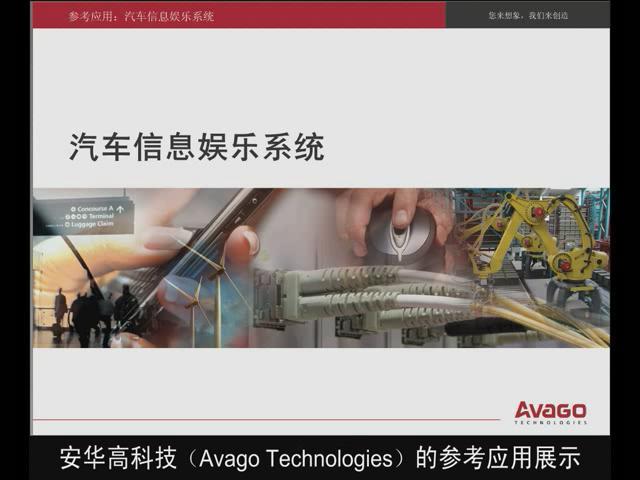 安华高科技汽车信息娱乐系统